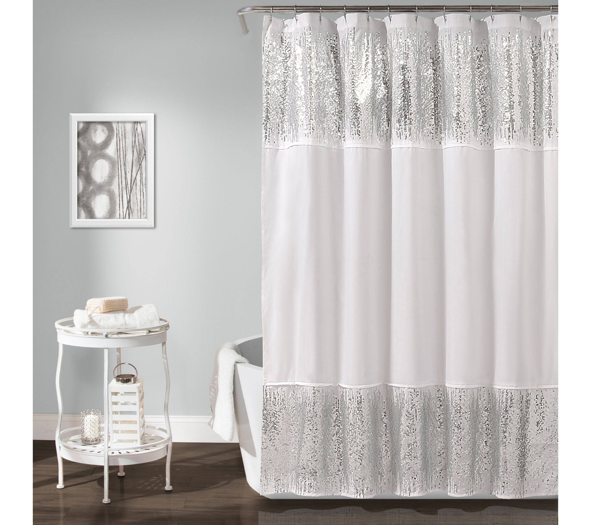 Shower Curtain By Lush Decor