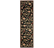 Lyndhurst Floral Swirl Power Loomed 23 x 8 Runner - H356800