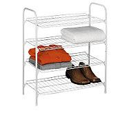Honey-Can-Do 4-Tier Closet Shelf - H357000