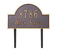 Personalized Arch Marker - Standard Lawn - H139301