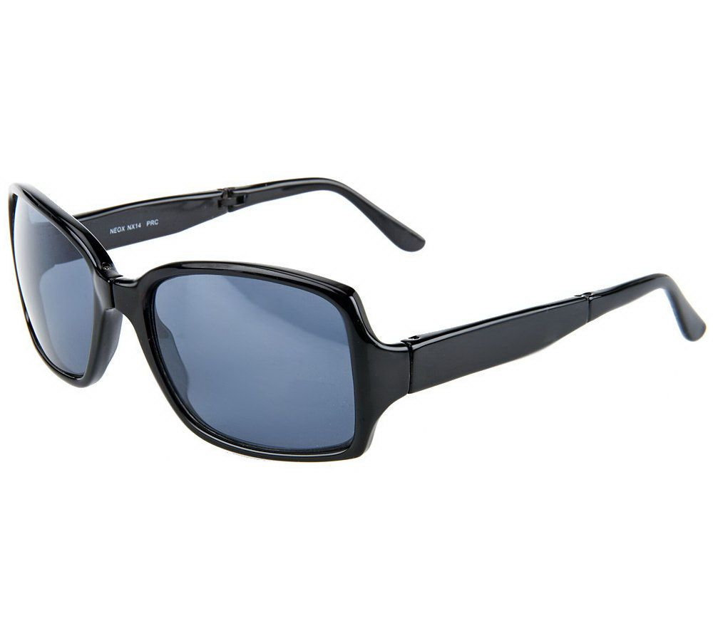 ed5d6ff2c0 Neox Folding Sunglasses with Compact Case by Lori Greiner - Page 1 — QVC.com