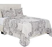 Jacquard Patchwork 100Cotton Bedspread - H211201