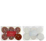 HomeWorx by Harry Slatkin S/24 Embossed Holiday or Fall Tealights - H211401