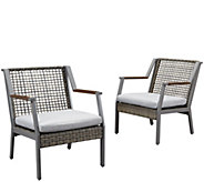 Real Flame Set of 2 Calvin Chairs - H297401