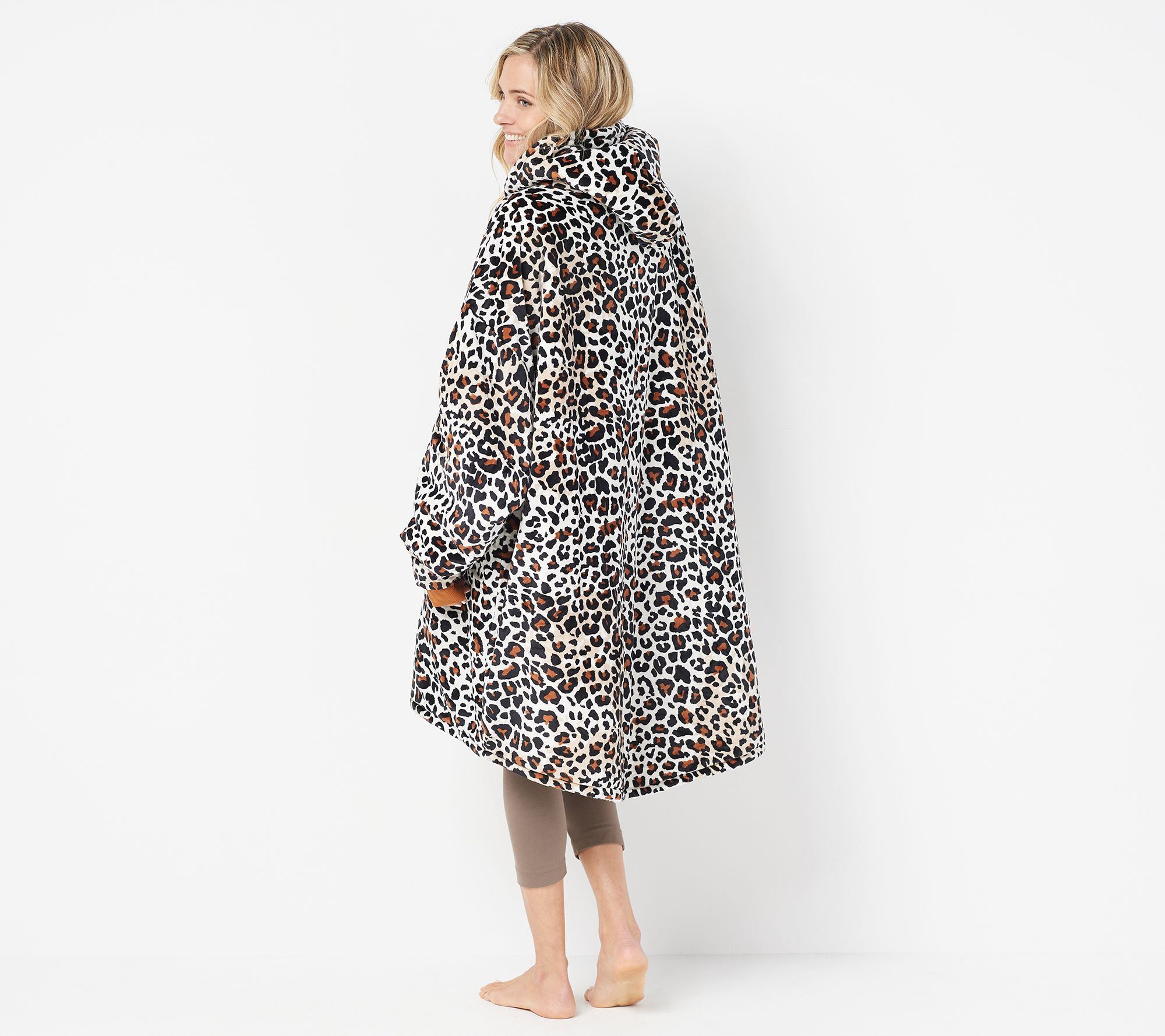 f27f7cdbf The Comfy Original Oversized Blanket Sweatshirt — QVC.com