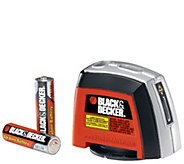 Black & Decker Laser Level with Wall Mounting Accessories - H281402