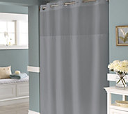 Hookless Englewood Shower Curtain with Built-In Liner - H216403