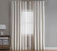 Inspire Me! Home Decor 4 Pc Stella 108 Lined Window Treatment - H218003