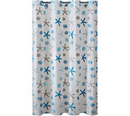 Hookless Printed Shower Curtain - Seashell - H293703