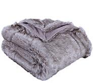 Berkshire Blanket Luxury Wolf Faux Fur Throw Blanket - H296703