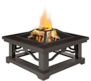 Real Flame Crestone Wood-Burning Fire Pit - H301403