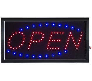 Lavish Home Open LED Sign with Animation