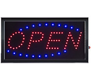 Lavish Home Open LED Sign with Animation - H302403