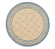 Safavieh Courtyard Lattice Flower 6 7 Rug Round - H179004