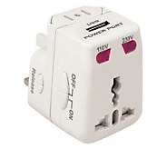 Travelon Worldwide Adapter and USB Charger - H179304