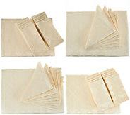 Lenox Laurel Leaf Tablecloth w/ Water Repel & Napkin Set - H211004