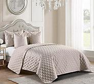 Inspire Me! Home Decor Vivienne Cal KG 5-piece Quilt Set - H215504