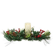 Luminara 32 Garland Centerpiece with Pillar & Micro Lights - H217404
