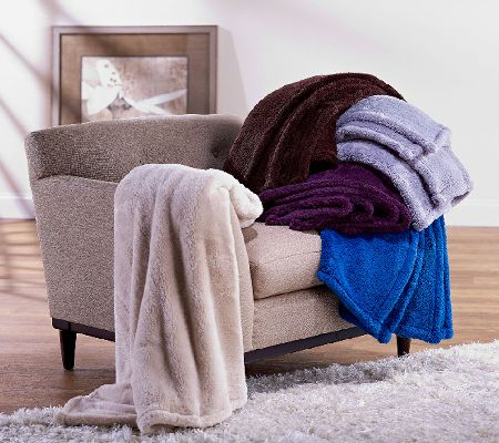 Berkshire Blanket Set of 2 Super Soft 55