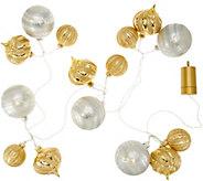 Kringle Express Shatterproof 6 Lit Ornament Cluster Garland - H212905