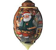 Santas Toy Shop Ornament by NeQwa - H287605
