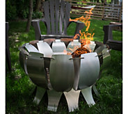 Desert Steel Stainless Steel Tanami Fire Pit - H293005
