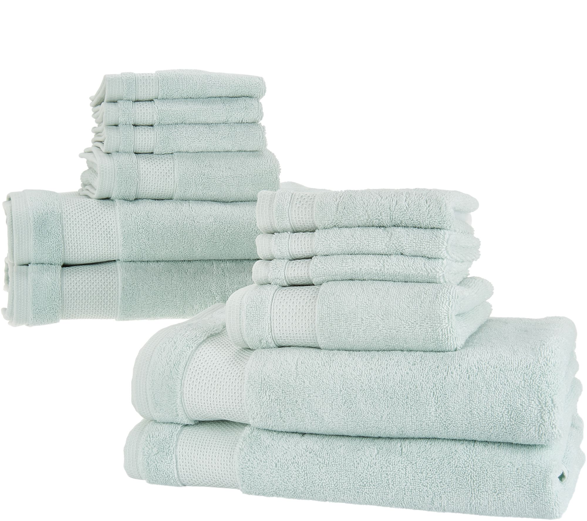 Scott Living 12-Piece 100% HygroCotton Bath Towel Set - Page 1 — QVC.com