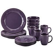 Rachael Ray Cucina 16-Piece Stoneware Dinnerware Set - H285406