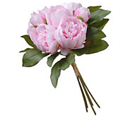 National Tree Company 12 Warm Pink Peony Bundle - H300506