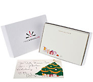 Isaac Mizrahi Live! Holiday Notecards - H204007
