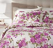 Delaney All Over Floral Twin Comforter Set with Sham - H212607