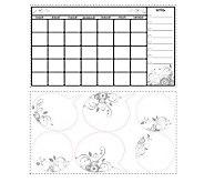 RoomMates Dry Erase Calendar Peel & Stick WallDecal - H348907