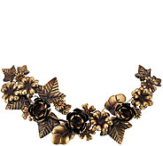 ED On Air 19.9L x 9.4W Metal Floral Garland by Ellen DeGeneres - H207008