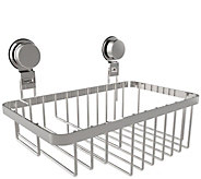 Lavish Home Wall Mounted Shower Caddy with Suction Cups - H298108