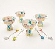Temp-tations Egghunt Set of (4) 8-oz Parfait Cups - H217109
