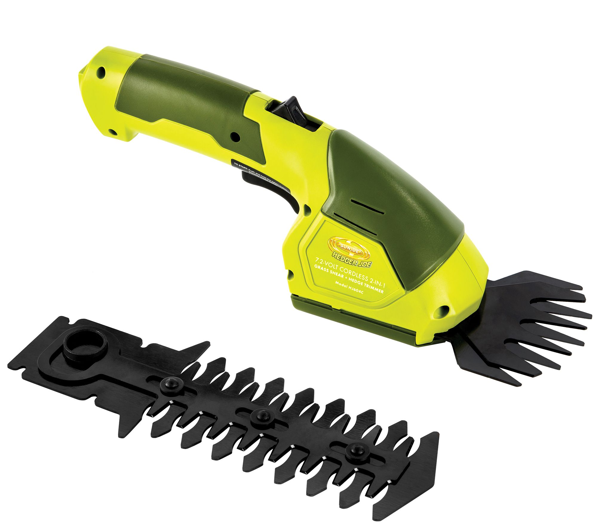 2-In-1 Garden Cordless Grass Shear /& Hedge Trimmer Hand Held gift present box