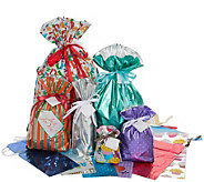 Kringle Express 46-Piece All-Occasion Gift BagSet - H301209