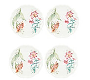 Lenox Set of 4 Butterfly Meadow Accent Plate - H301809