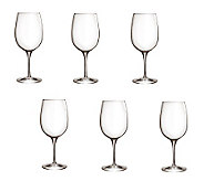 Luigi Bormioli 16.25-oz Palace Wine Tasting Glasses - Set of 6 - H364909