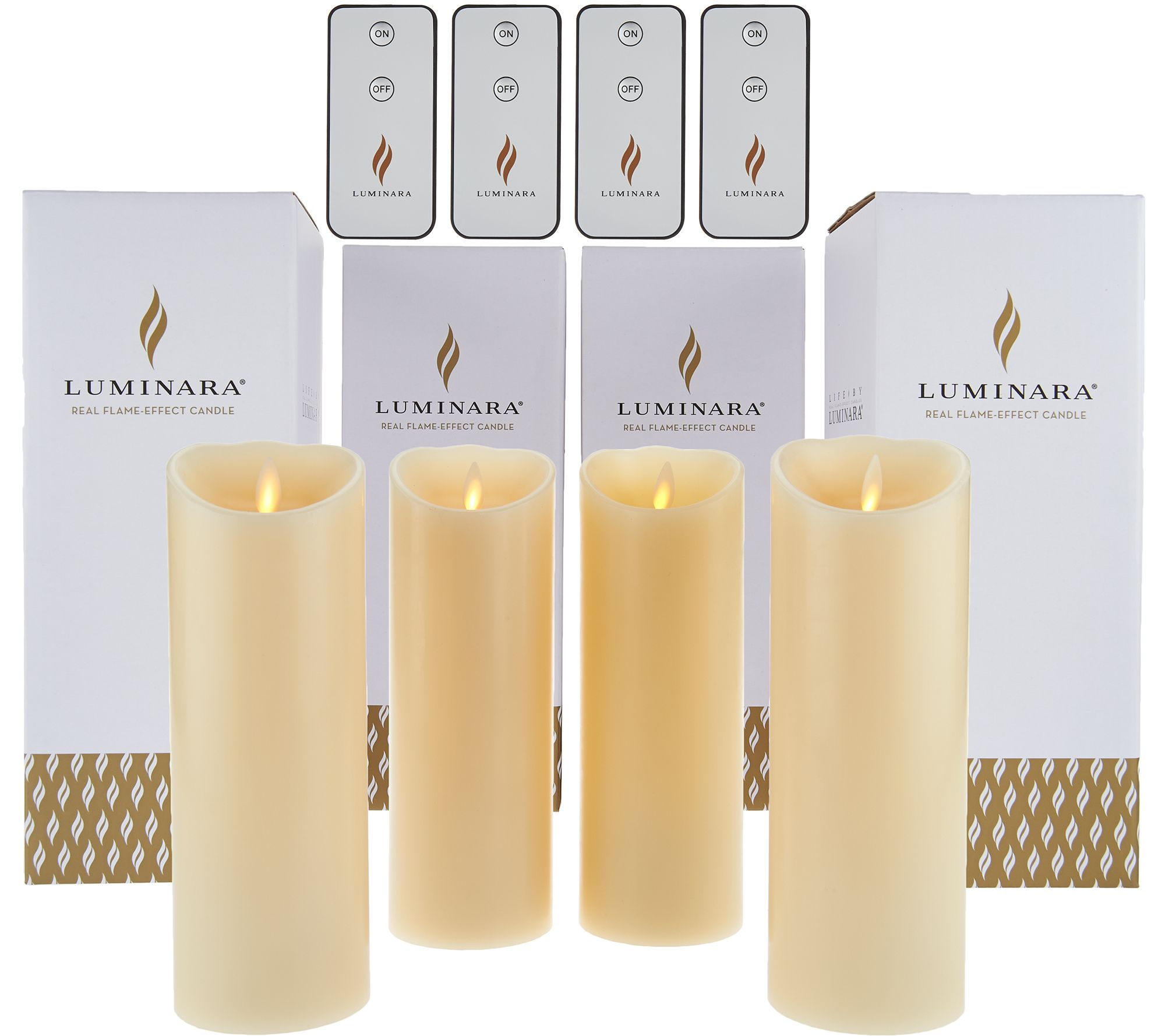 flameless votive candles with remote luminara 4 8 quot flameless unscented candles with 4 remotes 8947