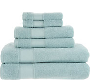 Casa Zeta-Jones 100Turkish Cotton 6 Piece Towel Set - H213510