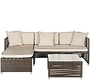 Safavieh Likoma 3-Piece Sectional Outdoor Set - H286210