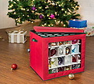 Honey-Can-Do 120-Count Ornament Cube - H310010