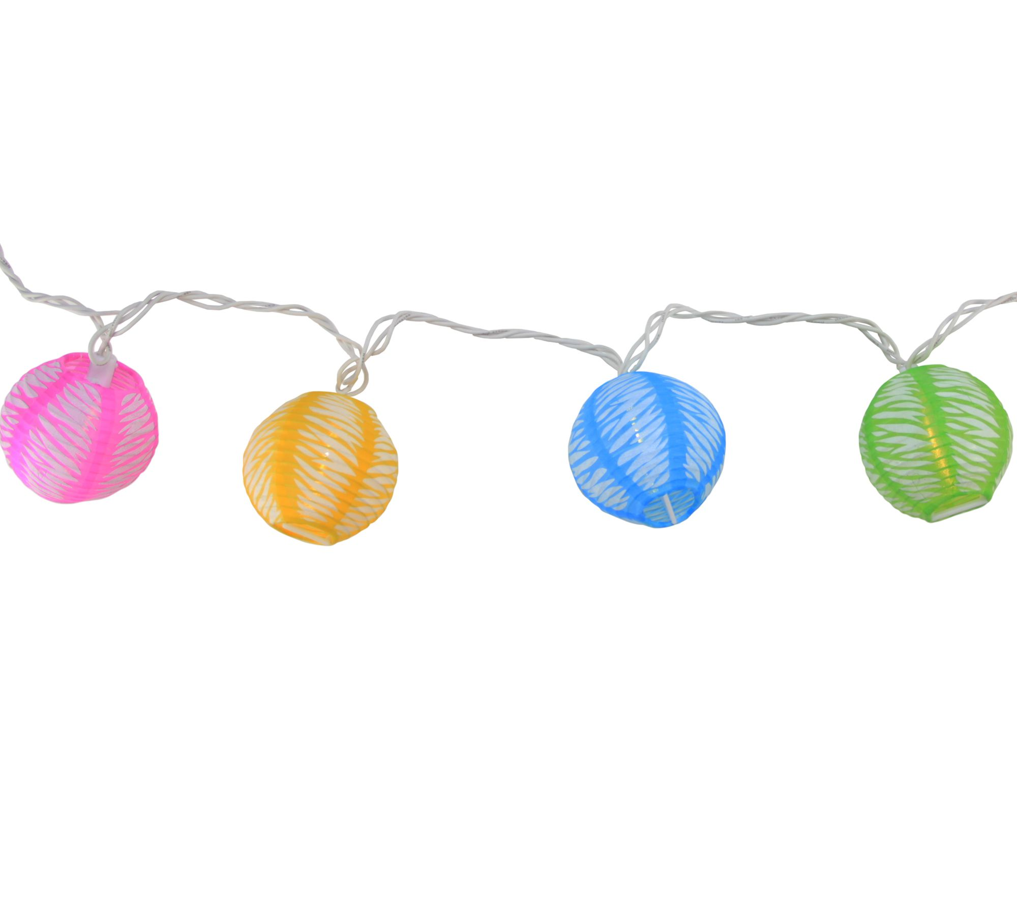 Northlight Multi Color Chinese Lantern Patio Lights Qvc