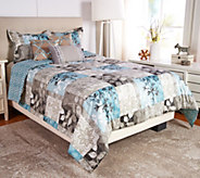 Scott Living Seattle 6pc Reversible Queen Comforter Set - H210711
