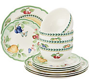 Villeroy & Boch French Garden 12-Piece Porcelain Dinnerware Set - H213911