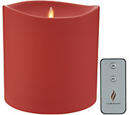 Luminara 6 x 6 Outdoor Pillar Candle with Remote - H216611