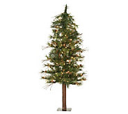 5 Mixed Country Alpine Tree w/ Clear Lights byVickerman - H183412