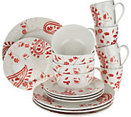 Cooks Essentials Alexandria 16-piece Dinnerware Set - H211112