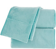 Berkshire Blanket Velvet Soft Cozy Queen Sheet Set - H216812